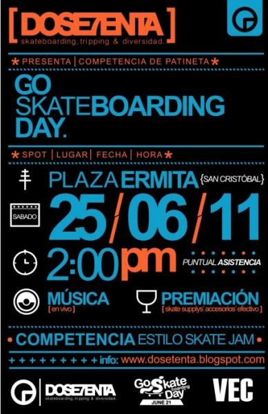 Go Skateboarding Day 2011 del Tachira